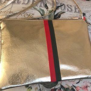 Handbags - Gold crossbody
